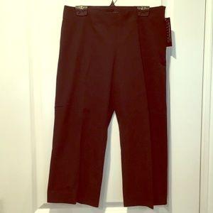 Black Capri Pants- 8P, New With Tags